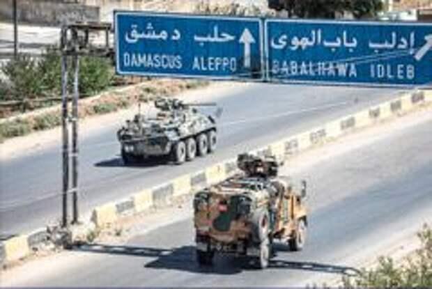 США перебросили в Сирию бронетехнику для охраны своих военных