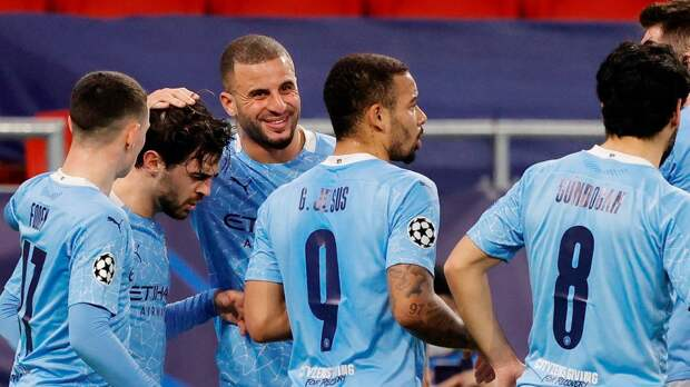 «Манчестер Сити» победил «Лестер» в 30-м туре АПЛ. Отрыв от «МЮ» — 17 очков