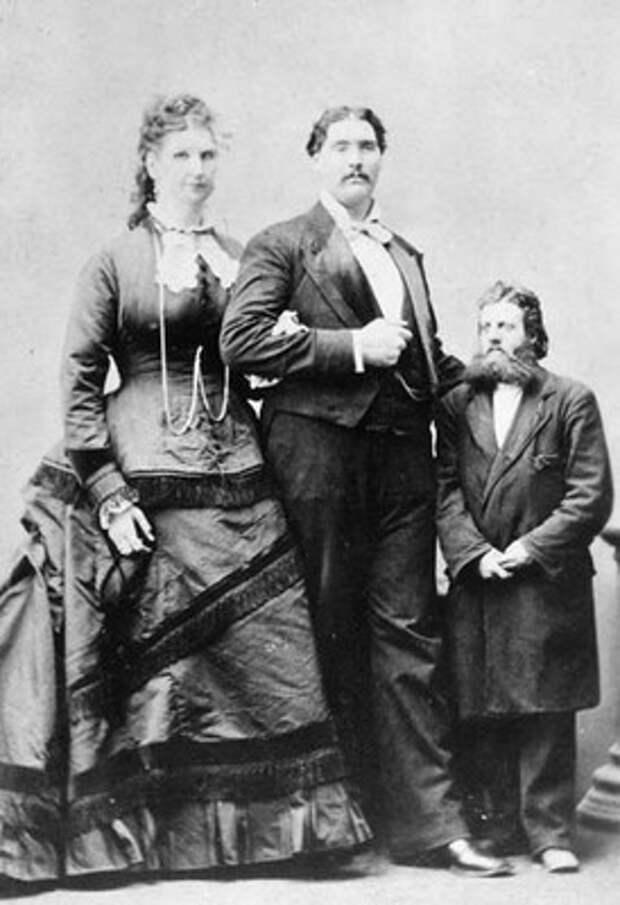 XIX век: Люди-великаны