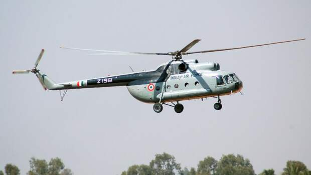 Многоцелевой вертолет Ми-8 ВВС Индии