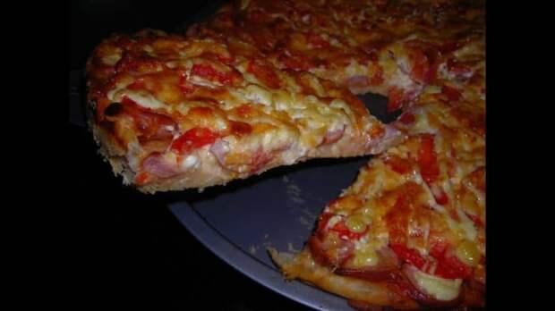 Великолепная Пицца на сковороде всего за 5 минут - когда нужно быстро перекусить
