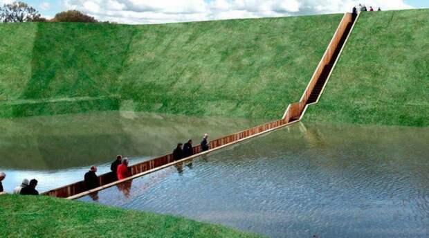 5 уникальных пешеходных мостов, по которым захочется гулять снова иснова
