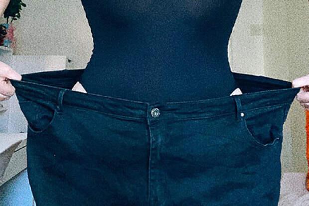 Девушка похудела на44килограмма безтренировок