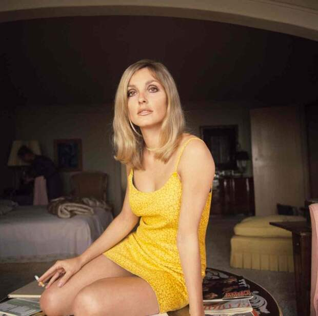 Красивые фотографии Шэрон Тейт, актрисы с трагической судьбой