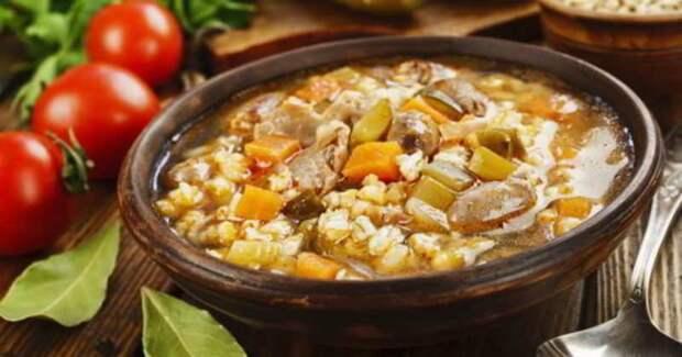 Рассольник по-деревенски. Традиционный суп на обед и ужи 2