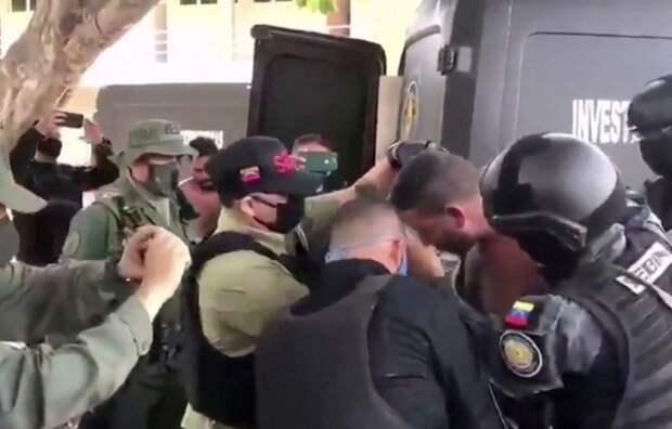 Венесуэльское телевидение показало признание американца в планах выкрасть Мадуро