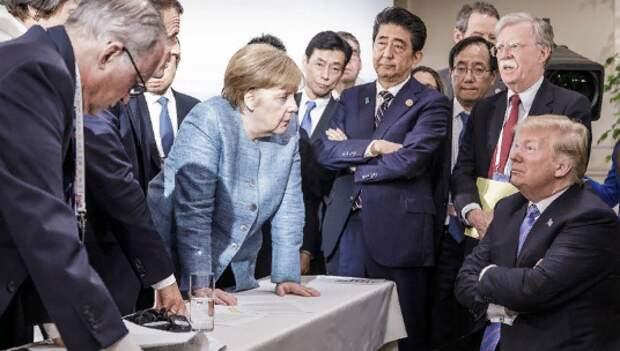 Мария Захарова прокомментировала фото с лидерами стран G7