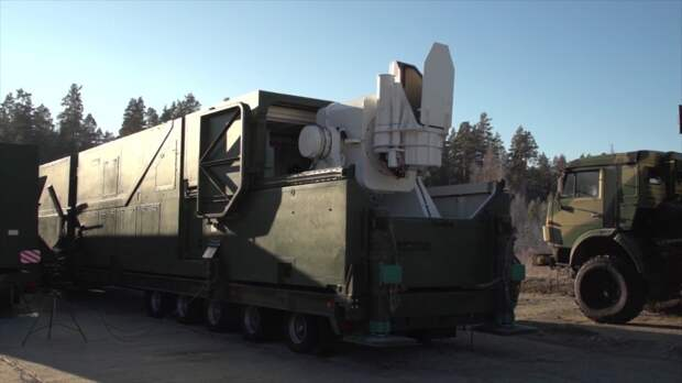Российский боевой лазер «Пересвет» способен выводить из строя американские шпионские спутники
