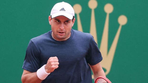 Карацев считает, что ему повезло пройти в четвертьфинал турнира в Сербии