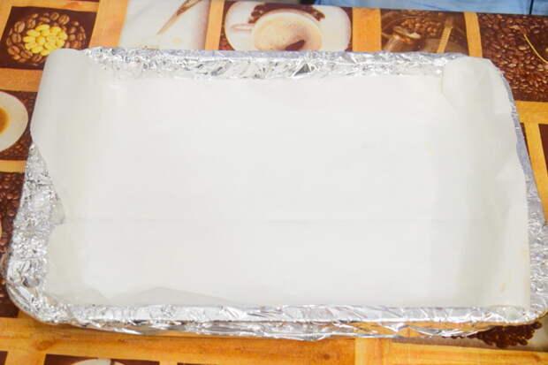 Заготавливаем противень с бумагой для выпекания Айдахо, видео, еда, картофель в духовке, своими руками