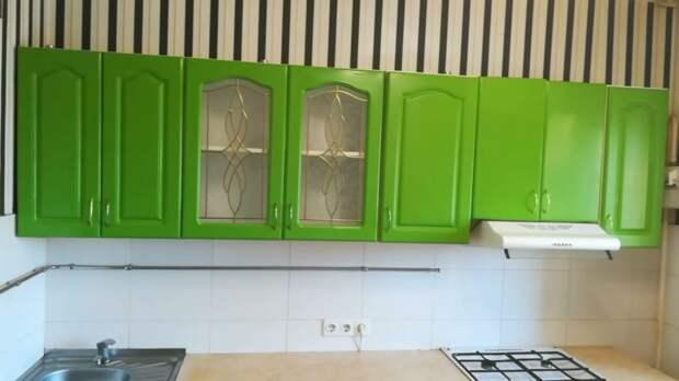 Простейший способ обновить кухню. Справится даже новичок