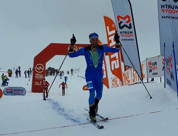 New records today in Arinsal: Robert Antonioli and Victoria Kreuzer won the Vertical race of ComaPedrosa pulverizing the previous best times of the race