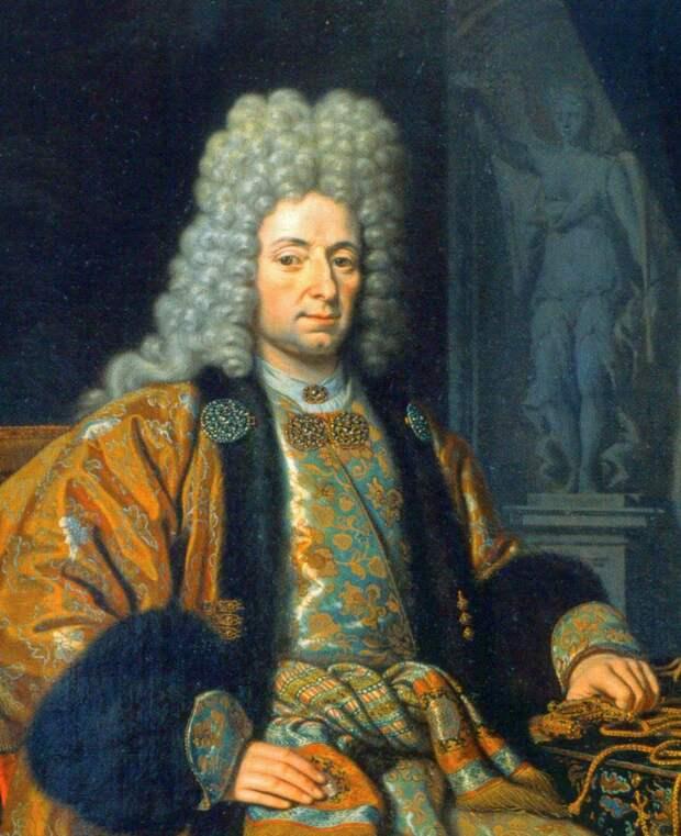 Франц Лефорт. М. Ван Мюссер, 1698.