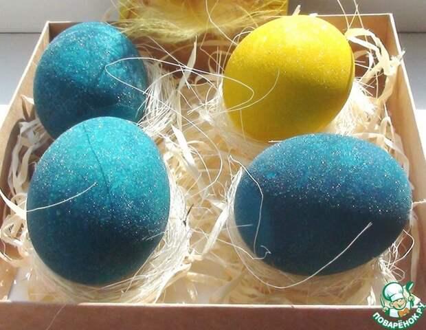 «КРАШЕНЫЕ яйца в БЕЛОМ ВИНЕ»: