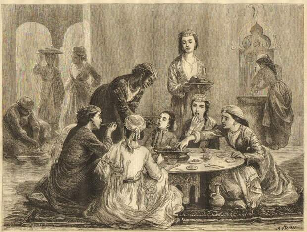4 аппетитных факта о том, насколько шикарно питались султаны