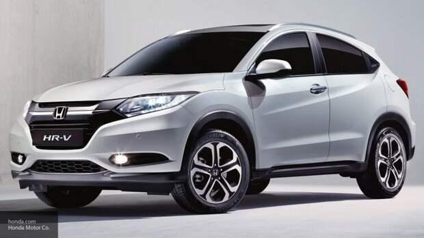 Компания Honda официально представила в Европе обновленный гибридный кроссовер HR-V
