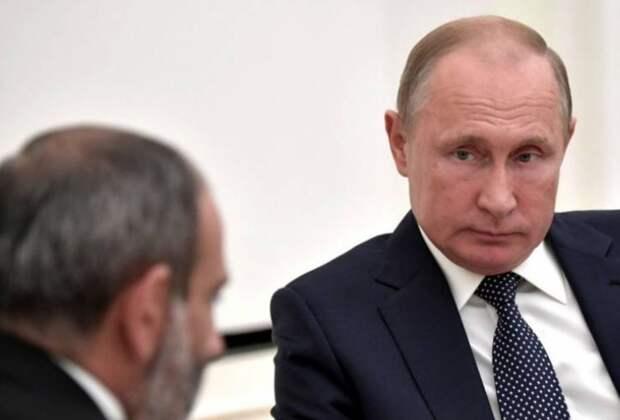 Мольбы становятся неприличными: Пашинян обратился лично к Путину и получил холодный