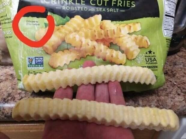 Когда изображение на упаковке не совпало с реальностью, но в лучшую сторону