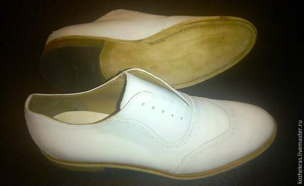 патина, отделка обуви