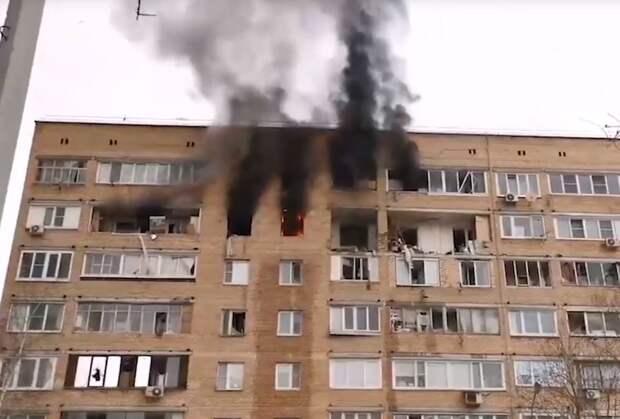 Три человека погибли под обломками взорвавшегося дома в Химках