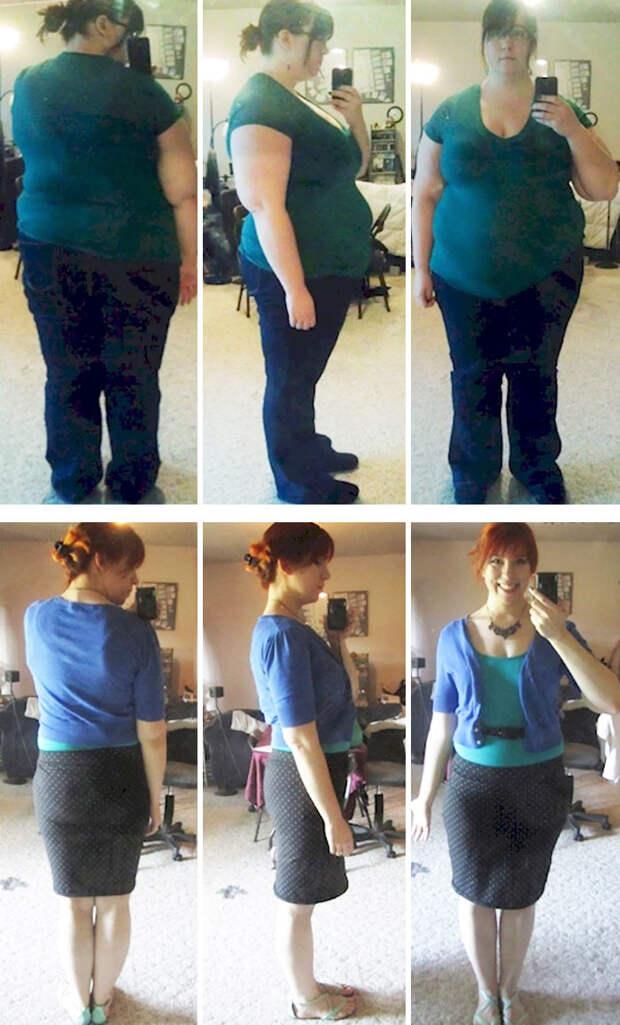 16. Из 140 кг в 77 кг за 17 месяцев  похудение, результат