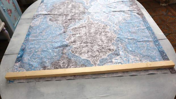 Сшила римскую штору из простыни легко и быстро. Результат - эффективная вещь от жары и зноя