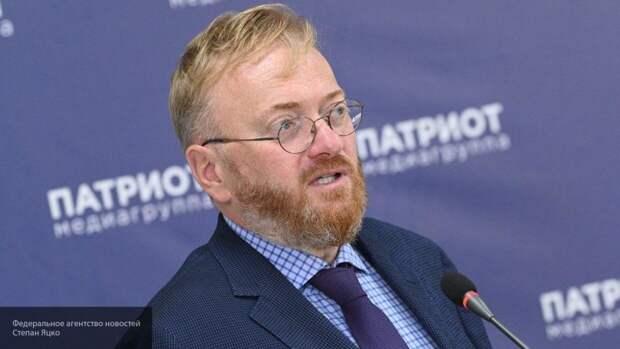 Милонов заявил, что не считает важной роль президента Литвы