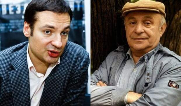 Павел Санаев и Ролан Быков