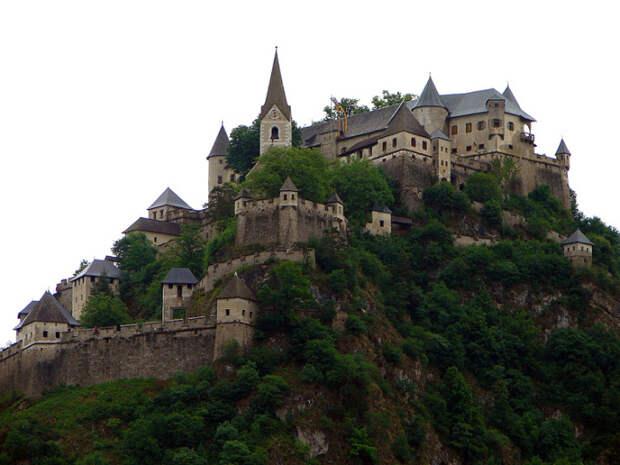Burg Hochosterwitz, Австрия.