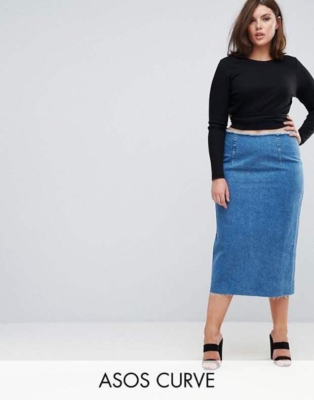 Юбки для полных женщин 2018: фото, тенденции, фасоны.