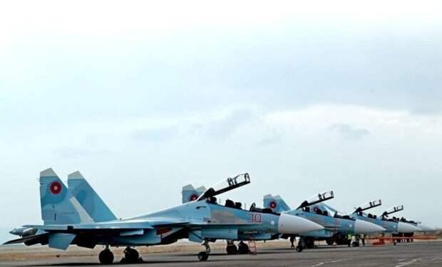 Армения заявила о применении российских истребителей Су-30СМ