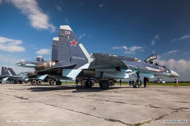 Российский истребитель Су‑35С