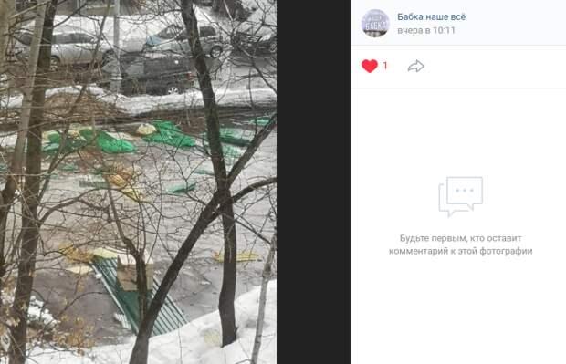 Мусор после сноса автостоянки на Лётчика Бабушкина вывезут до конца недели – управа