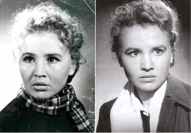 Советская актриса Екатерина Савинова   Фото: ecoiii.moy.su и kino-teatr.ru