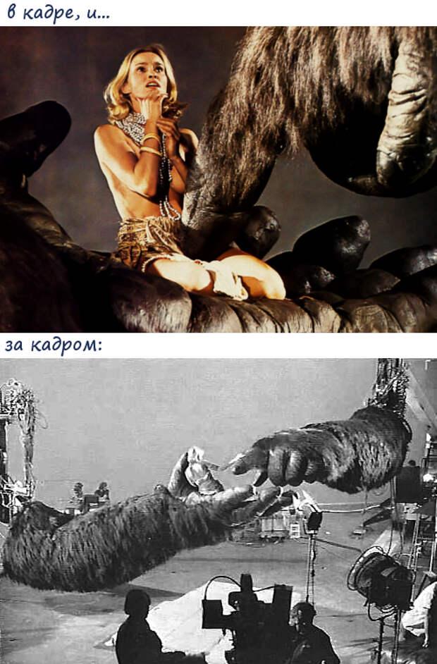 «Кинг-Конг»... актёры фильма 40 лет спустя