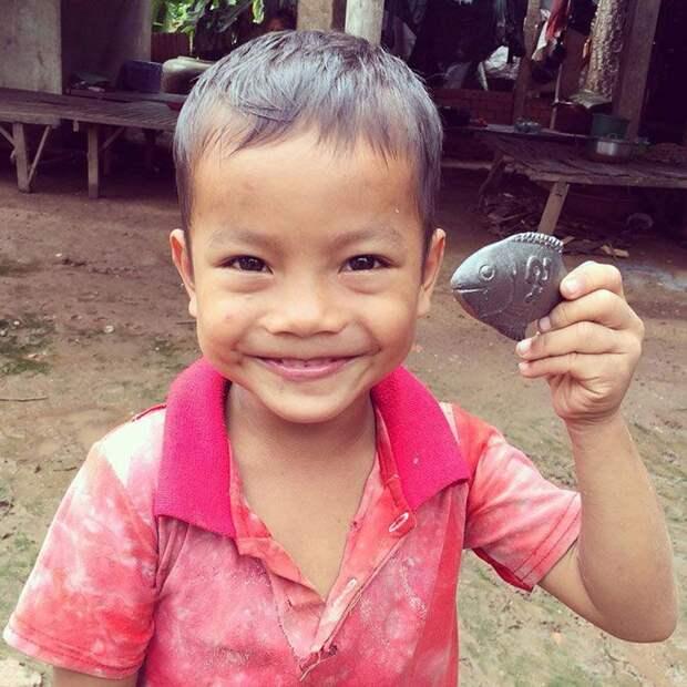 Эта металлическая рыба способна спасти жизнь человеку!