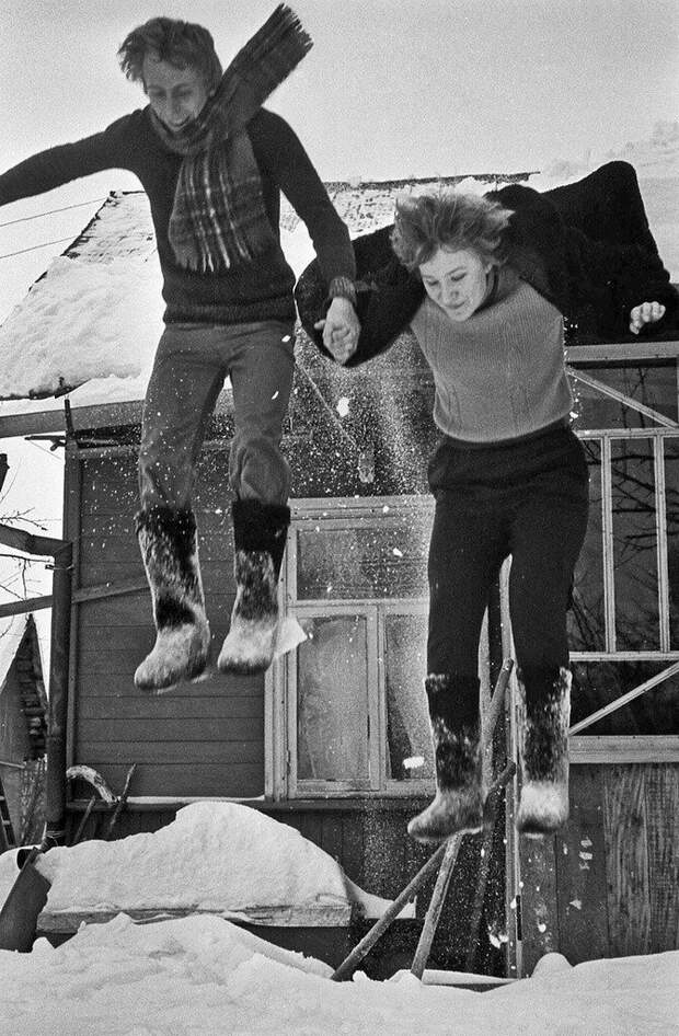 Любительская съёмка 80-х