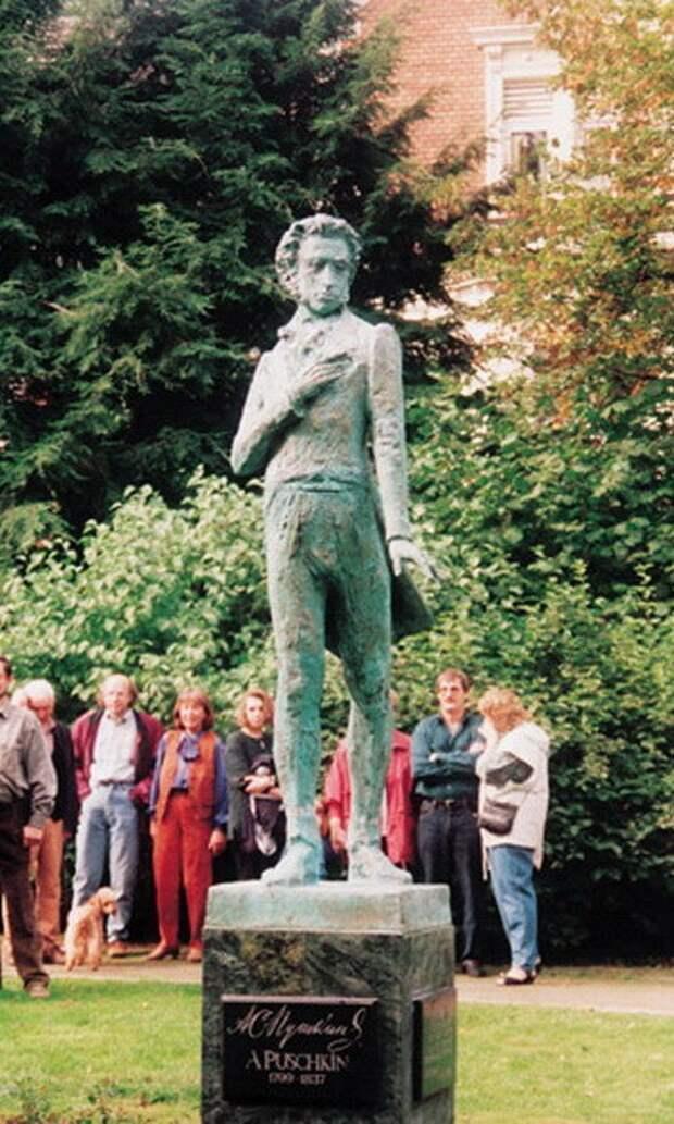 7. Памятник великому поэту в немецком Хемере памятники, ссср