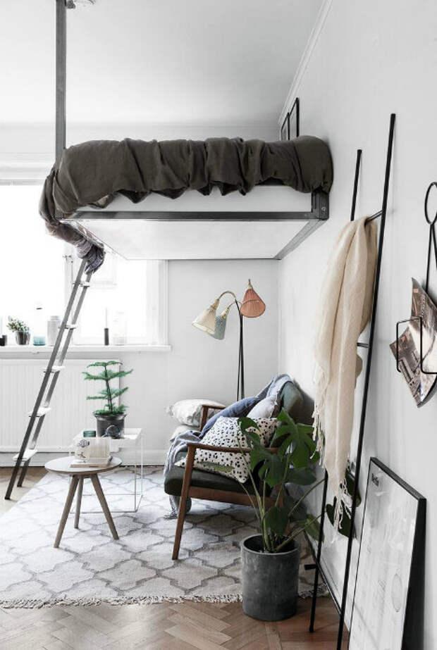13 эффективных идей, которые помогут преобразить и оптимизировать пространство небольшой квартиры