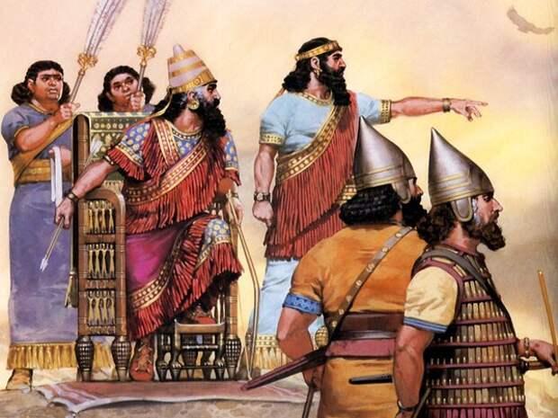 Могущественные цари Ассирии