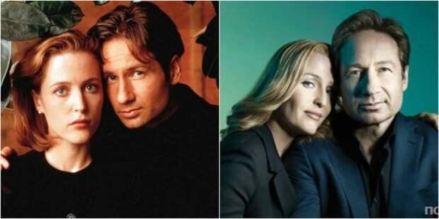 Пара актеров сыграла роли специальных агентов ФБР в американском научно-фантастическом телесериале «Секретные материалы», который в 1990-х стал хитом студии «Fox».