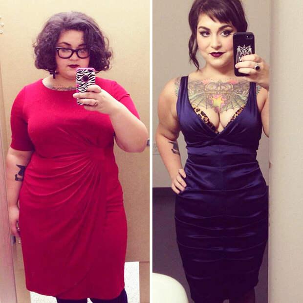 27. - 45 кг за год похудение, результат