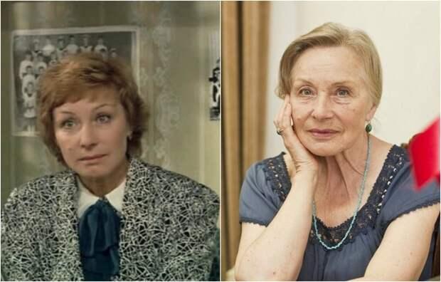 На счету у замечательной актрисы более полусотни ролей в кино, а в фильме Петра Тодоровского, сыграла роль мамы главной героини.