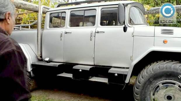 Самодельный внедорожник ЧАЧО авто, самодельный авто, ссср
