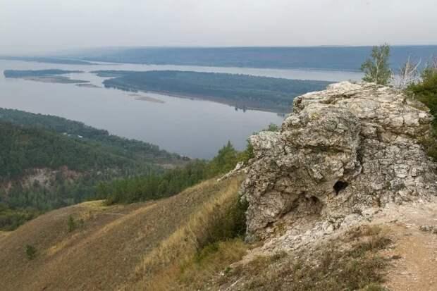 Гора Стрельная и Волга