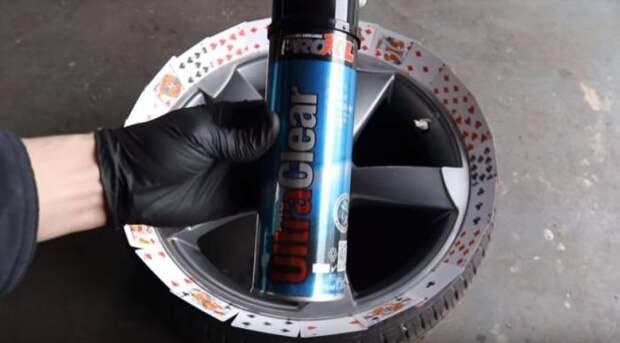 Сделайте вот такой козырек для защиты шины. /Фото: youtube.com.