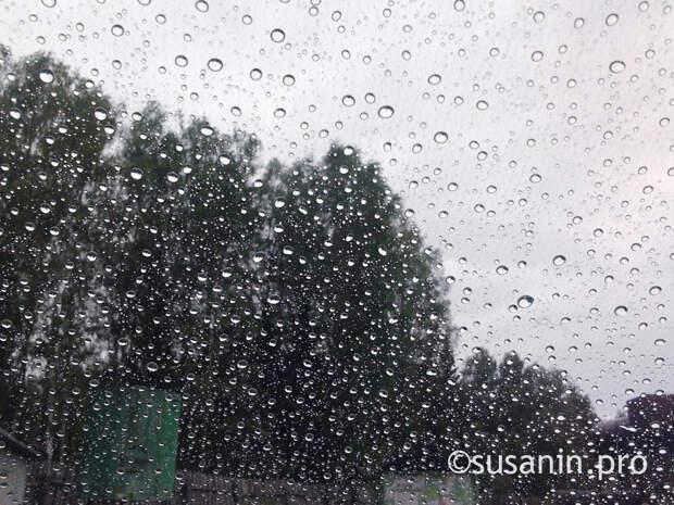 Жителей Удмуртии предупредили о сильных дождях и ветре
