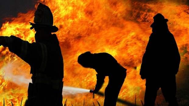 Спасатели ликвидировали возгорание в Красногвардейском районе Петербурга