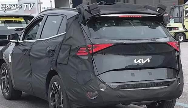 Kia начала дорожные испытания прототипа кроссовера Sportage нового поколения