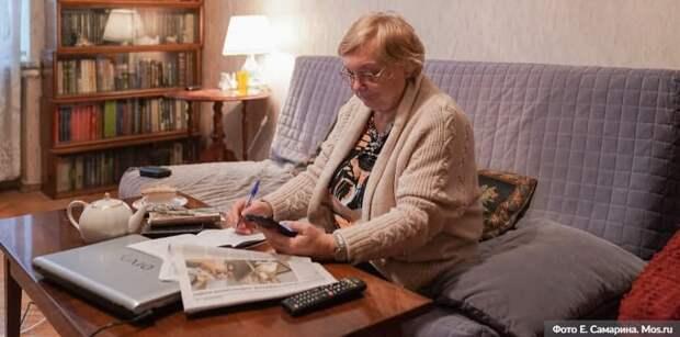 С 3 января возобновляют работу онлайн-группы «Московского долголетия» /Фото: Е. Самарин mos.ru